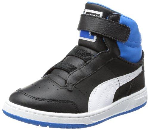 bébé Court Full Noir mode Kids garçon Blanc Hi Puma Bleu Baskets ZYOAqUw55