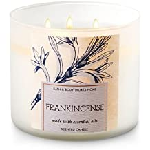 Bath and Body Works White Barn 3 Wick Candle Frankincense 25 To 45 Hour Burn Time
