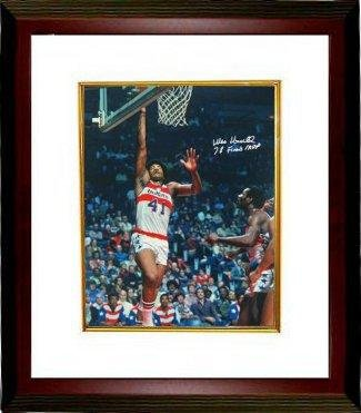 Wes Unseld Signed Photo - 16x20 78 Finals MVP Custom Framed - Autographed NBA ()