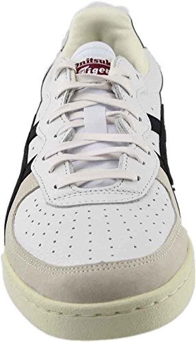 Onitsuka Tiger Mens Gsm Fashion Sneaker Bianco / Nero