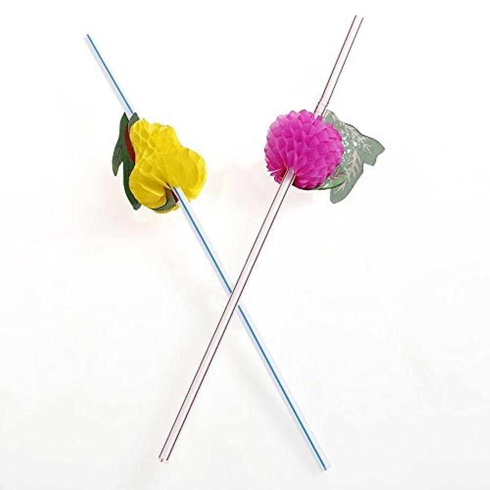 悩み要求するアンプ誕生日パーティーのための多彩なフルーツストロー