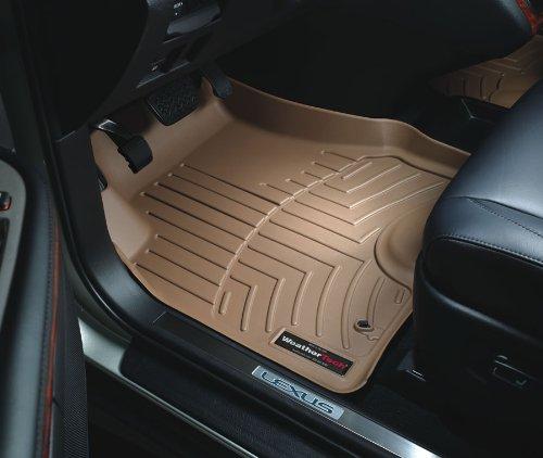 Weathertech Custom Fit Front Floorliner For Volvo Xc90 Tan