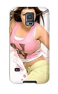 1647768K36977806 Galaxy S5 Ayesha Takia 311 Print High Quality Tpu Gel Frame Case Cover