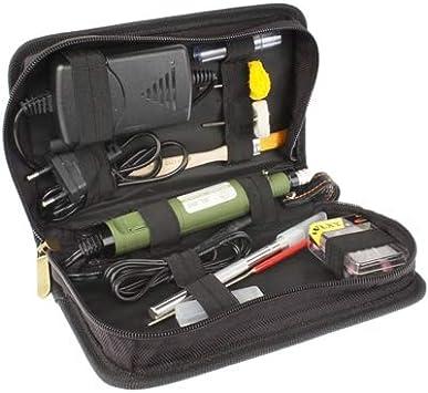 Taladro eléctrico Mini Eléctricos Paquetes de Combinación de siembra (Drilling + corte + + Rectificado Pulido), Caja de herramientas: Amazon.es: Bricolaje y herramientas