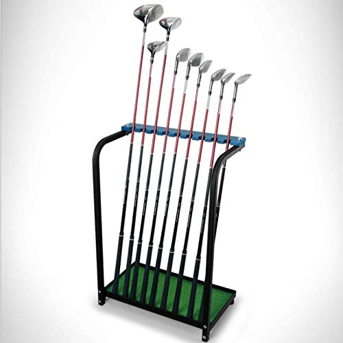 CRESTGOLF Golf Club Organizers Golf Club Display Shelf-----Green, ()