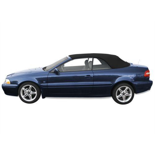 Volvo C70 Convertible Top (1999-2006) Haartz Twillfast II Cloth Material with Heated Glass Window, - C70 Volvo Convertible