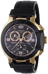 Tissot T-Race Chronograph Mens Watch - Rose Gold Tone