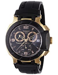 Tissot Men's T-Race T048.417.27.057.06 Black Rubber Swiss Quartz Watch