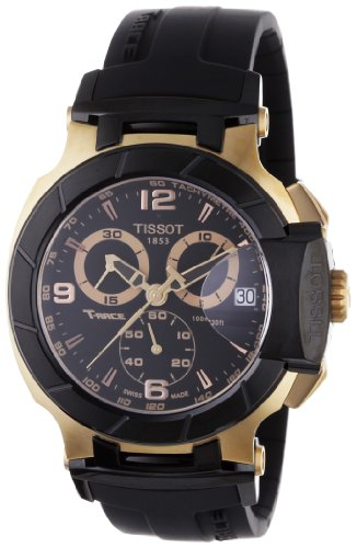 Tissot T-Race Chronograph Mens Watch - Rose Gold Tone