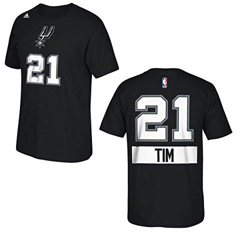 San Antonio Spurs Tim Duncan Black Christmas Day T-Shirt