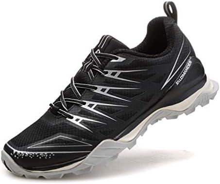メンズ トレッキングシューズ 軽量 通気 マラソン ランニングシューズ ローカット 靴 アウトドア スニーカー