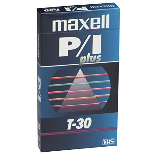 MAXELL T-30 PLUS Professional Videocassette for Time-Lapse Use (Discontinued by Manufacturer)