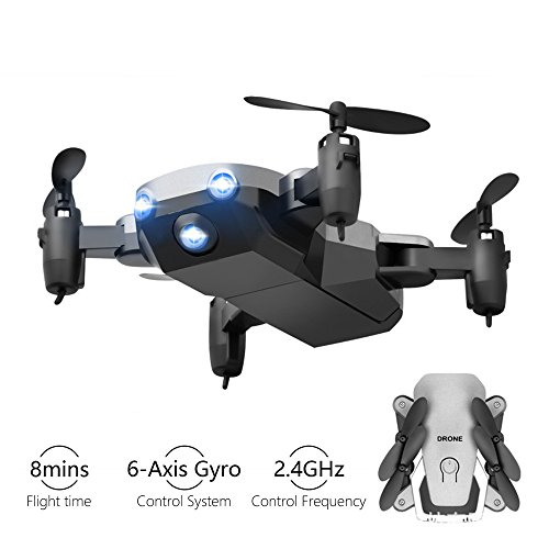 Kyerivs Mini Drone, RC Helicopter, 2.4Ghz 6-Axis Gyro 4 Channels Quadcopter Great Choice for Beginner and Kids