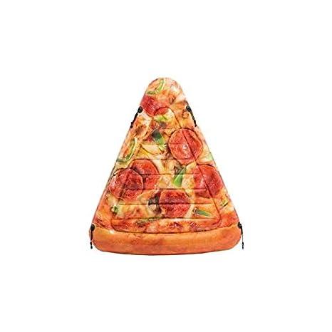 Intex 58752EU - Colchoneta hinchable Pizza 145 x 175 cm