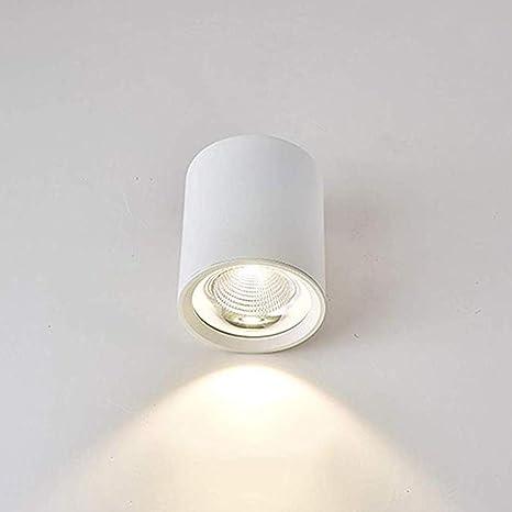 Yaione LED Moderno Techo Foco Luz de superficie Downlight ...
