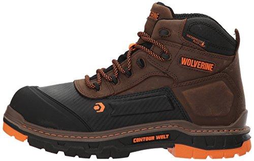 Wolverine Men's Overpass 6'' Composite Toe Waterproof Work Boot, Summer Brown, 10.5 M US by Wolverine (Image #5)