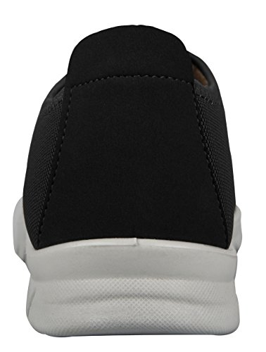 Ilovesia Heren Comfort Walking Instappers Casual Loafer Zwart