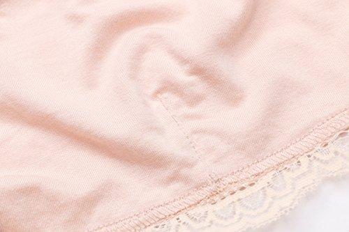 e4fccc6a99606c Women s Hi-neck Lace Halter Bralette Crop Top Floral Bra (L