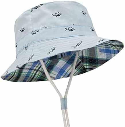 51cfcc53176e01 Durio Baby Sun Hat Summer Beach UPF 50+ Sun Protection Baby Boy Hats  Toddler Sun