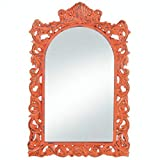 BESTChoiceForYou Frames Distressed Ornate Wall Decor Wood Home French Accent Plus Orange