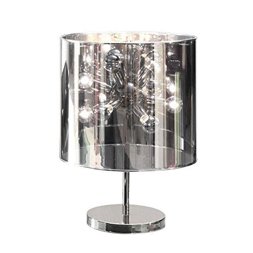 Accent Table Lamp Nova Lighting - Zuo 50006 Supernova Table Lamp, Chrome