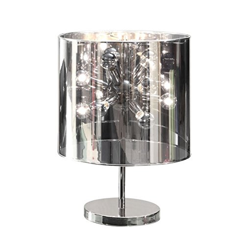Zuo 50006 Supernova Table Lamp, Chrome