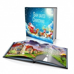 personalized story book by dinkleboo saving christmas for kids aged 0 to 8 years - What To Get An 8 Year Old For Christmas