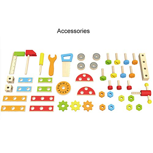ZYN Children's Tool Chair Puzzle Hand Toy Large Screw Cap Combination Packages by ZYN (Image #5)
