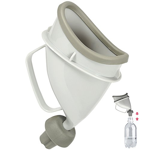 ONEDONE Female Travel Urination Device,Unisex Portable Pee Funnel,Outdoor Standing up Urinal Reusable (Wheelchair Standing Up)