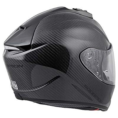 Scorpion ST1400 Carbon Helmet (X-Large) (Black): Automotive