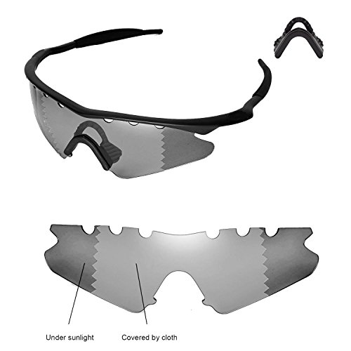 Walleva Vented Replacement Lenses Or Lenses With Black No...