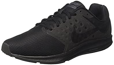 Nike Mens Downshifter 7 Running Shoes Black/Metallic Hematite/Anthracite 10  4E US