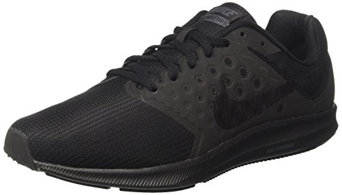 Image of the NIKE Men's Downshifter 7 Running Shoe Black/Metallic Hematite/Anthracite Size 11 M US