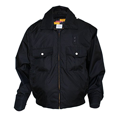 Solar 1 Clothing WJ01 Nylon Police Windbreaker, Black, 5X...