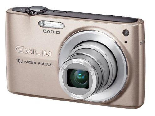 Casio EXILIM ZOOM EX-Z300 - Digital camera - compact - 10.1 Mpix - optical zoom: 4 x - supported memory: MMC, SD, SDHC, MMCplus - pink
