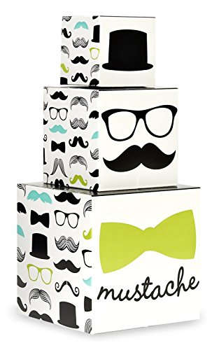 Mustache Man Party Supplies - (Mustache Centerpieces)