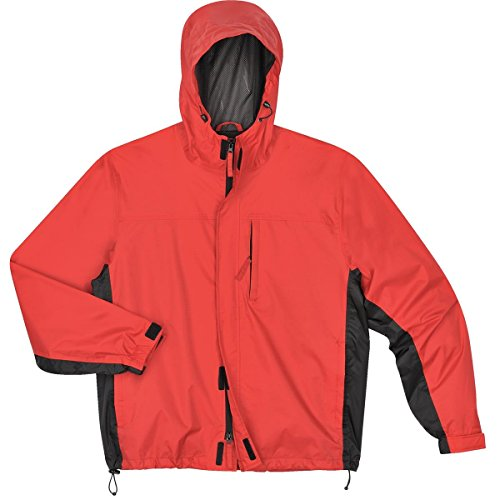 Gempler's 214442 Packable Rip-Stop Rain Jacket, Red, Size (Ripstop Nylon Jacket)