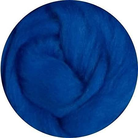Merino Wool Roving for Felting - BLUE (SAVE: 2 ounces) Weir Crafts