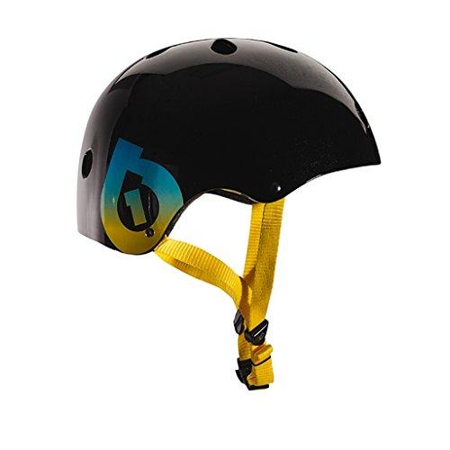 - SixSixOne 2016 Dirt Lid Traditional Skate and Multi-Sport Helmet - 7123 (Black)