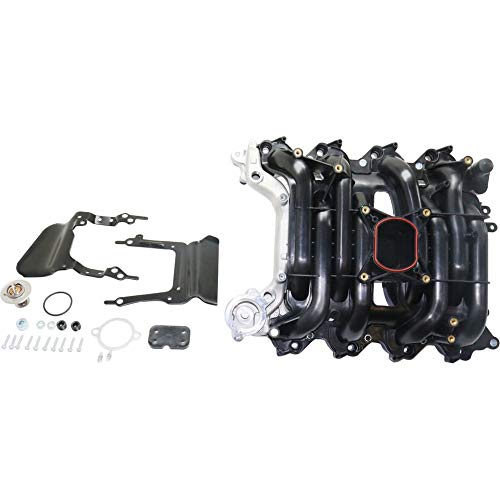Upper Intake Manifold Kit compatible with 1996-2000 Ford Mustang Crown Victoria Mercury Grand Marquis 4.6L SOHC ()