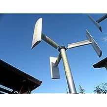 Mini Micro Home Vertical axis Wind Turbine Power Generator 500 / 750 /1000 W small domestic Mill Darrieus Savonius 1KW