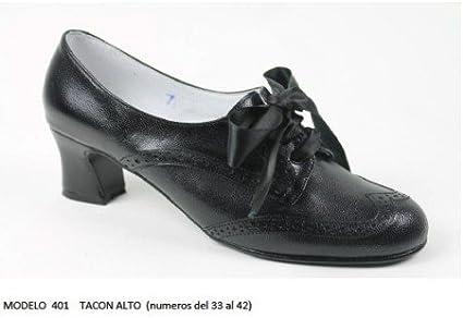 Zapato para Baile Traje Regional Tacón Alto: Amazon.es: Juguetes y ...