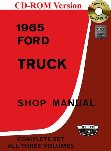 1965 Ford Truck Shop Manual