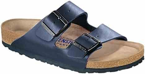 Birkenstock Unisex Arizona Navy Birko-flor¿ Sandals - 4-4.5 2A(N) US Women
