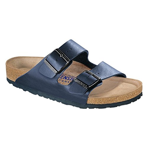 Birkenstock Unisex Arizona Navy Birko-flor¿ Sandals - 4-4.5 2A(N) US Women by Birkenstock (Image #2)