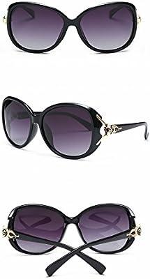 Fox Cabeza Dama Polarizada Gafas de Sol Retro Gafas de Sol ...