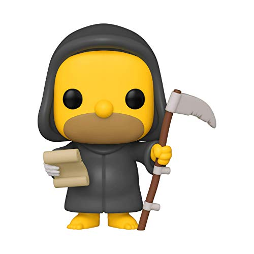 Funko- Pop Animation Simpsons-Reaper Homer Figura Coleccionable, Multicolor (501