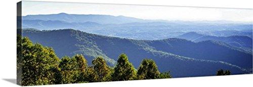 Alan Hausenflock Premium Thick-Wrap Canvas Wall Art Print entitled Blue Ridge Mountains II 60