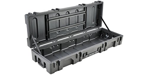 SKB 3R6218-10B-EW Roto-Molded 62 x 18 x 10 Inches Waterproof Case with Wheels and TSA Latches by SKB