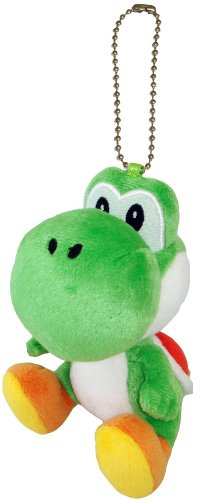 "Little Buddy Toys Yoshi 5"" Plush Key Chain"